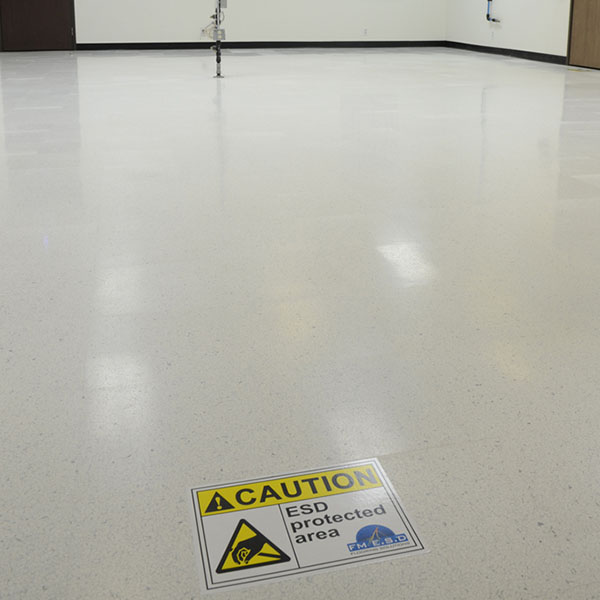 Dissipative Floor Finish 1